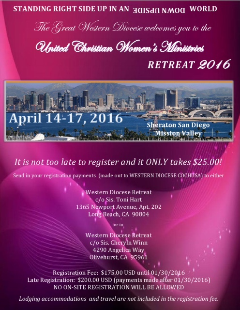 2016 UCWM REMINDER Retreat Flyer