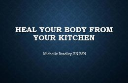 Heal Yourself from your Kitchen