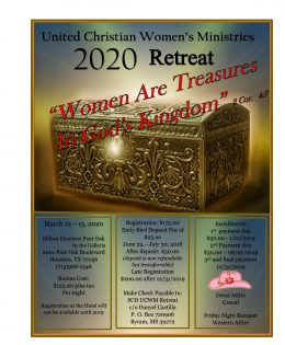 2020 UCWM National Retreat